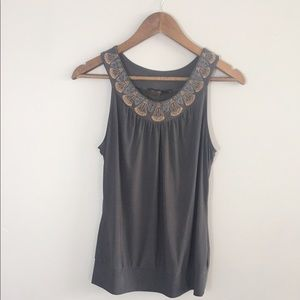 The Limited Sleeveless Blouse M